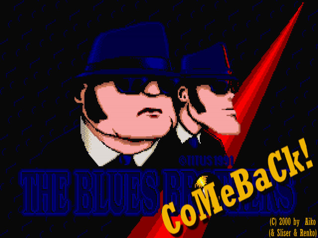 The Blues Brothers Comeback BETA