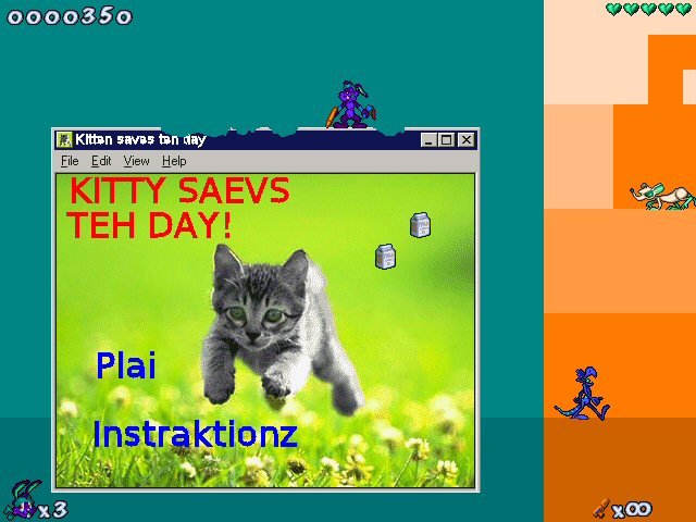KITTY SAEVS TEH DAY